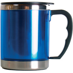 Basic Nature Stainless Steel Thermal Cup 420ml, blue